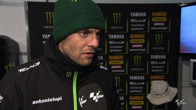 Determined Crutchlow unfazed by heavy crash