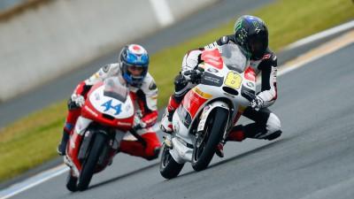 Miller encabeza el warm up de Moto3™