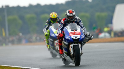 Difficult afternoon for Yamaha Factory Racing
