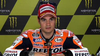 Pedrosa: 'I'm really happy with this one'