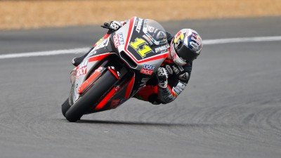 First Moto2™ points for Sandro Cortese