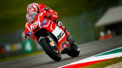 Hayden, miglior pilota Ducati del venerdì
