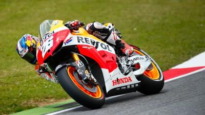 レプソル・ホンダのペドロサが4連続の表彰台、マルケスは今季初の転倒リタイヤ