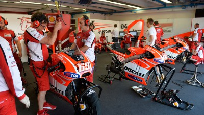 Ducati Team completes Mugello test