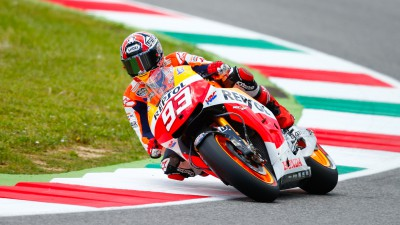 Relaxed Marquez keen to resume battle