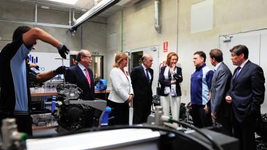 エンジンメンテナンス担当のエクステンプロが設備を初公開