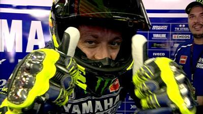 Rossi mais rápido em Barcelona
