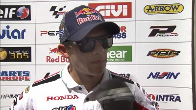 Bradl auf Platz fünf im Catalunya-GP