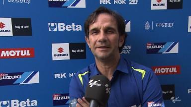 Brivio erklärt, warum Suzuki bis 2015 warten will