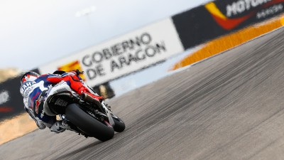 Aragon Day 2: Lorenzo quickest, Suzuki arrives