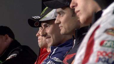 La rueda de prensa del Iveco TT Assen