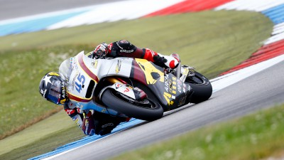 Redding davanti nel warm up di Assen