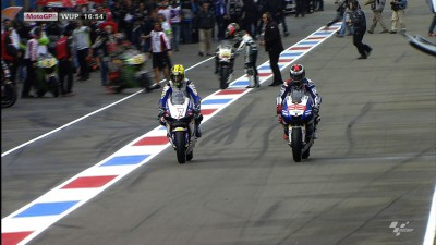 Lorenzo rejoins action in Assen Warm-Up