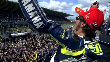 Valentino Rossi returns to winning ways