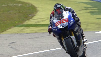'Man of Steel' Lorenzo races to top five