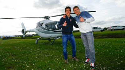 Márquez and Bradl on MotoGP™ and football on German talk show
