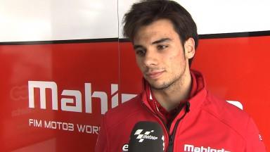 Oliveira misses podium but remains upbeat