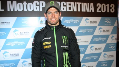 Crutchlow receives warm welcome in Argentina