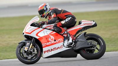 De Angelis prueba la Ducati en Misano junto a Iannone