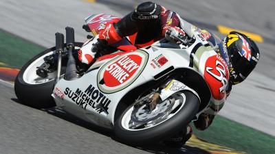 Redding rides Schwantz Suzuki of 1994