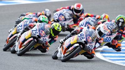 Red Bull MotoGP Rookies Cup: Heróis do futuro em Sachsenring