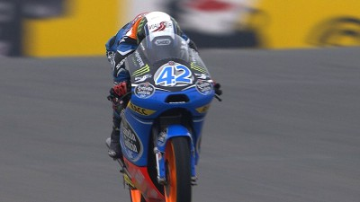 Rins moves ahead on Friday afternoon