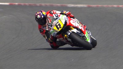 Bradl fastest at home as Lorenzo crashes again