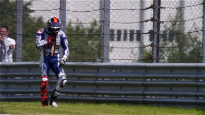 Lorenzo out of action after Friday crash