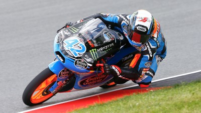 Rins claims pole position in Germany