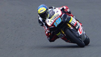 Maiden pole position for Simeon at Sachsenring
