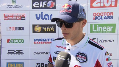 Bradl second but yet to be satisfied