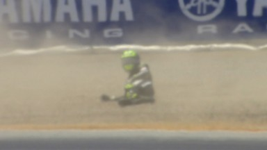 Crutchlow believes tyre problem caused crash