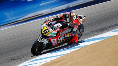 Pole-sitter Bradl tops morning Warm-Up