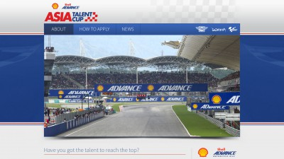 Shell Advance Asia Talent Cup launches website