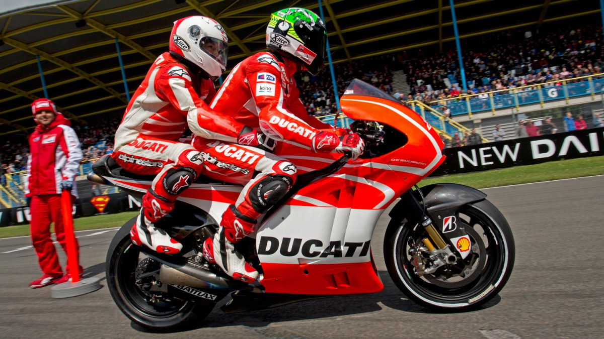 Ducati two-seater: the ride of your life | MotoGP™