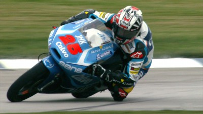 Viñales establishes new Moto3™ pace at Indy