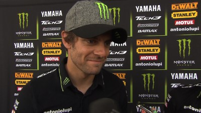 Crutchlow searches for more front end feeling