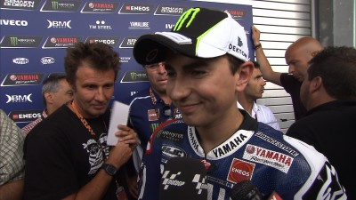 Lorenzo 'feeling good' as Rossi tries two bikes