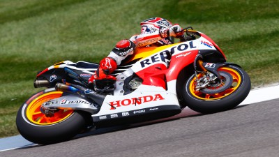 Marquez top as Spies is sidelined again