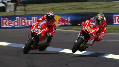 Hayden et Dovizioso reviennent sur un regrettable incident