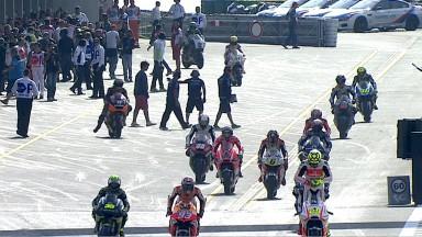 Lorenzo, buona la prima a Brno