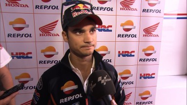 Pedrosa surprised by pain in shoulder