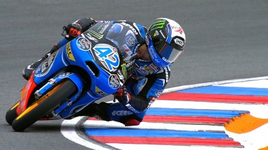 Rins storms to pole in Czech Republic