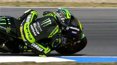 Crutchlow collects second MotoGP™ pole