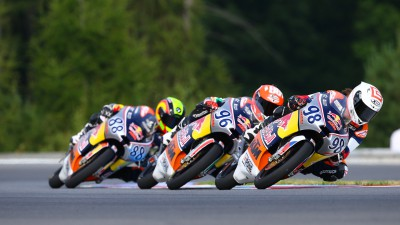 Red Bull MotoGP Rookies Cup: Hanika wins home race at Brno