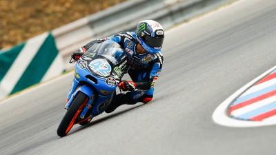 Rins, warm up ok a Brno