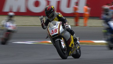 Kallio triumphs for first Moto2™ victory