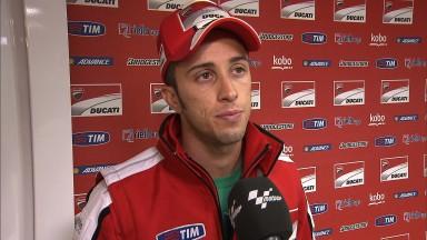 Bilan mitigé pour Dovizioso et Hayden