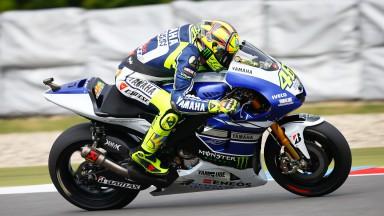 Rossi: 'Mejor que en Indy, pero no es suficiente'