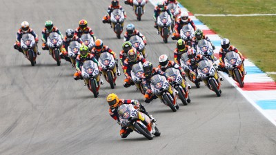 Red Bull MotoGP Rookies Cup: Anyone's races at Silverstone